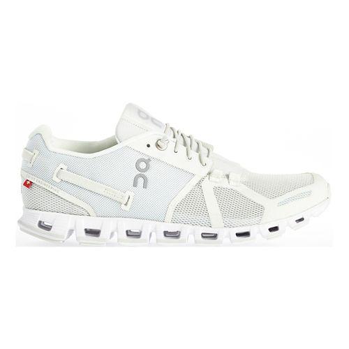 Womens On Cloud Running Shoe - Black/White 10.5