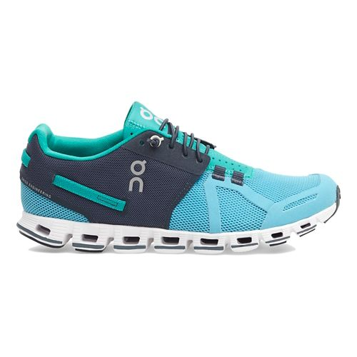 Womens On Cloud Running Shoe - Aqua/Green 7.5