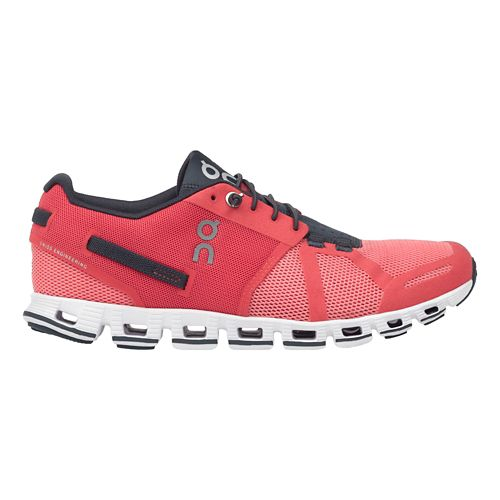 Womens On Cloud Running Shoe - Coral/Shadow 6