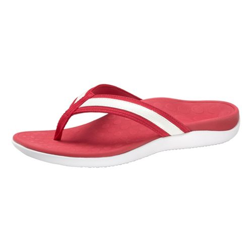 Womens Vionic Tide Sandals Shoe - Berry/White 9