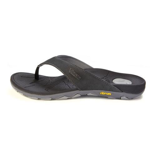 Mens Vionic Bryce Sandals Shoe - Black/Grey 7