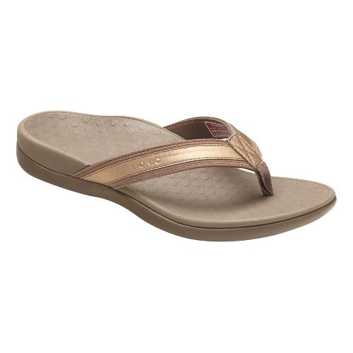 Womens Vionic Tide II Sandals Shoe - Bronze 6