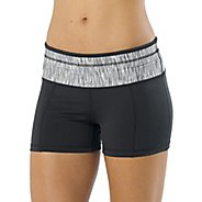 Womens Prana Brea Fitted Shorts
