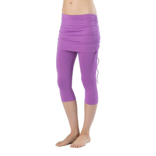 Womens Prana Cassidy Capri Tights - Dewberry M