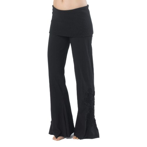 Womens Prana Malibu Full Length Pants - Black M