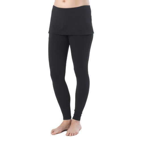 Womens Prana Satori Legging Fitted Tights - Black L