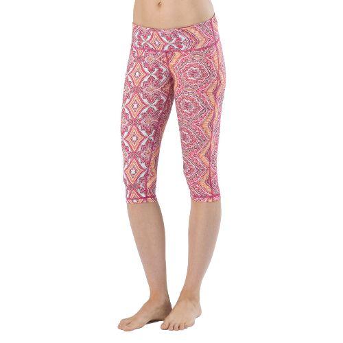 Womens Prana Maison Knicker Capri Tights - Boysenberry XS