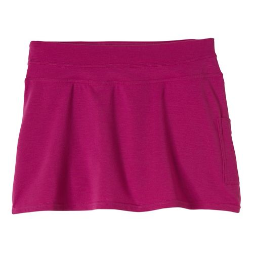Womens Prana Sugar Mini Skort Fitness Skirts - Vivid Viola XL