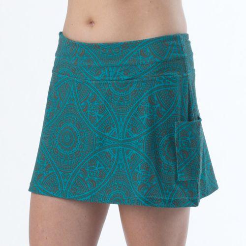 Womens Prana Sugar Mini Skort Fitness Skirts - Black Ibiza M