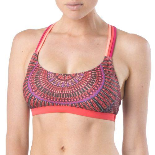 Womens Prana Zira Top Swimming UniSuits - Sprinkle Tiki XS