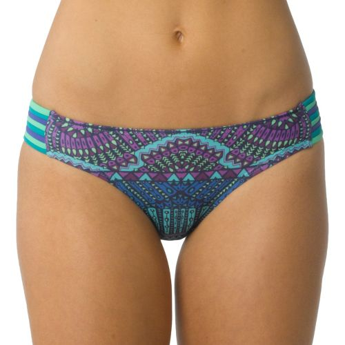 Womens Prana Sayha Bottom Swimming UniSuits - Dragonfly Tiki XS