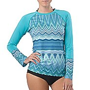 Womens Prana Rory Sun Long Sleeve No Zip Technical Tops