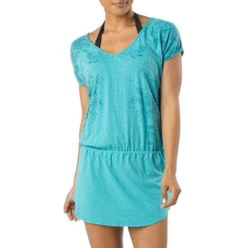 Womens Prana Ava Cover Up Short Sleeve Non-Technical Tops - Lagoon S