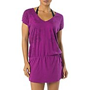 Womens Prana Ava Cover Up Short Sleeve Non-Technical Tops