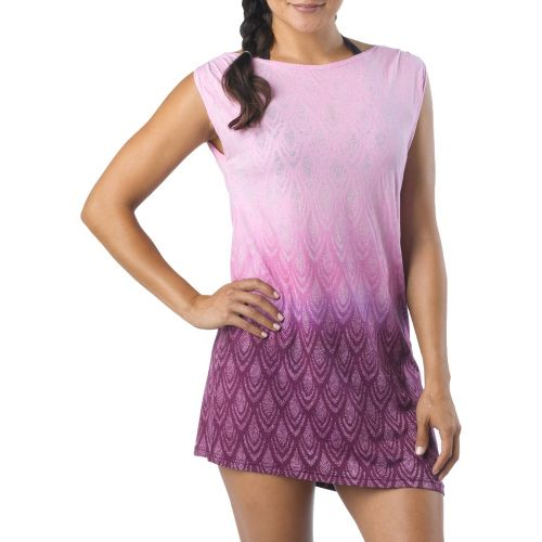 Womens Prana Colette Cover Up Sleeveless Technical Tops - Grape Juice M