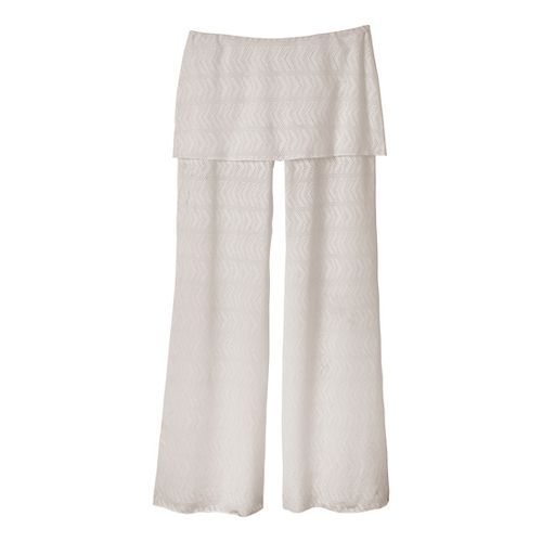 Womens Prana Satori Mesh Full Length Pants - Winter L