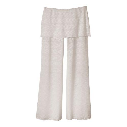 Womens Prana Satori Mesh Full Length Pants - Winter S