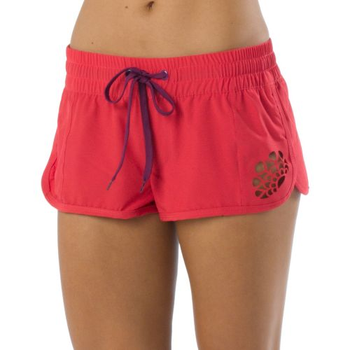 Womens Prana Brie Boardshort Splits Shorts - Sprinkle L