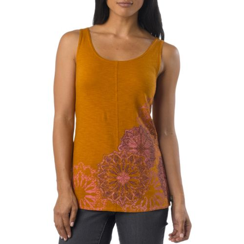 Womens Prana Molly Tanks Non-Technical Tops - Cumin XS