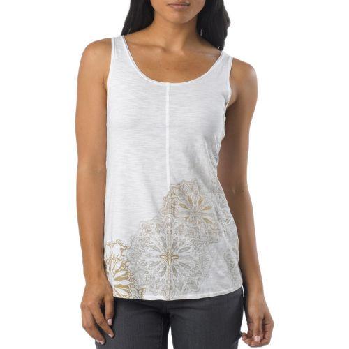 Womens Prana Molly Tanks Non-Technical Tops - White XL