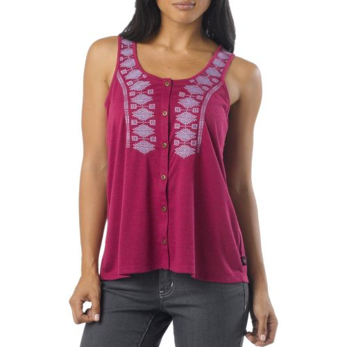 Womens Prana Alika Tanks Non-Technical Tops - Boysenberry XS