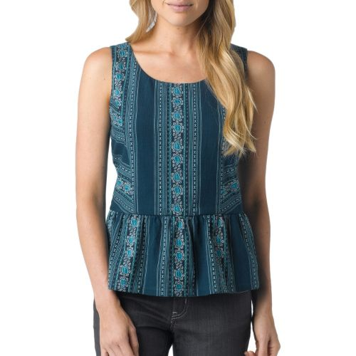 Womens Prana Selma Tanks Non-Technical Tops - Ink Blue XS