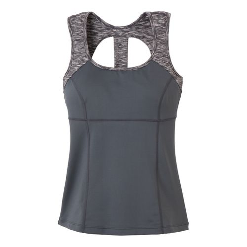 Womens Prana Marla Tanks Technical Tops - Coal XS