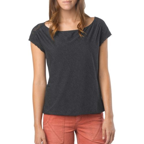 Womens Prana Bree Sleeveless Non-Technical Tops - Black XS
