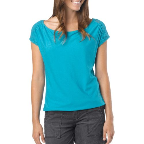 Womens Prana Bree Sleeveless Non-Technical Tops - Deep Cyan XL