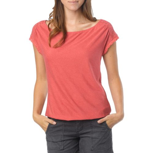 Womens Prana Bree Sleeveless Non-Technical Tops - Dusty Rose XL