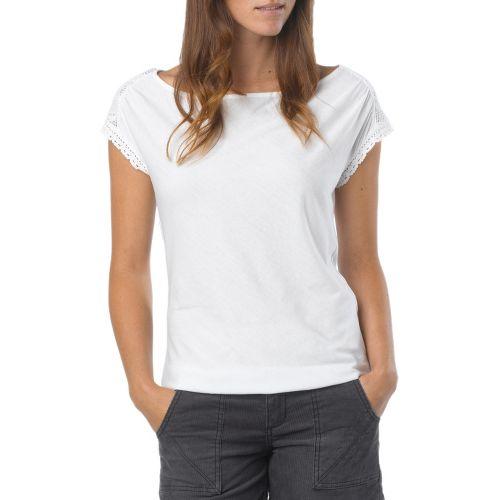 Womens Prana Bree Sleeveless Non-Technical Tops - White XS
