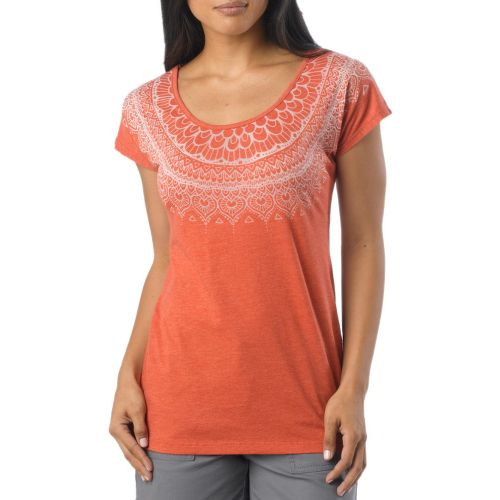 Womens Prana Chelsea Sleeveless Non-Technical Tops - Indian Red XL