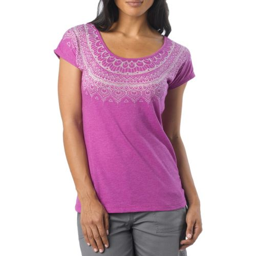 Womens Prana Chelsea Sleeveless Non-Technical Tops - Summer Plum XL