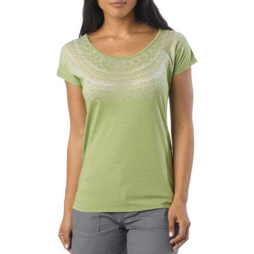 Womens Prana Chelsea Sleeveless Non-Technical Tops - Spinach XL