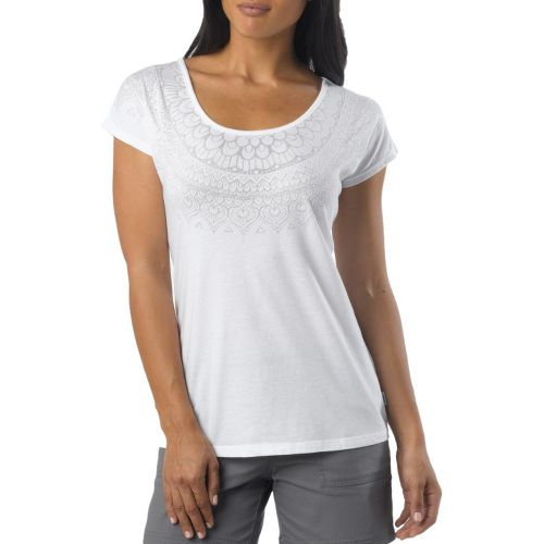 Womens Prana Chelsea Sleeveless Non-Technical Tops - White M