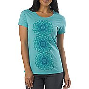 Womens Prana Gallery Tee Short Sleeve Technical Tops