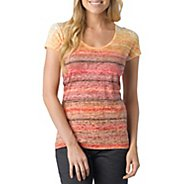 Womens Prana Ribbon Tee Short Sleeve Technical Tops