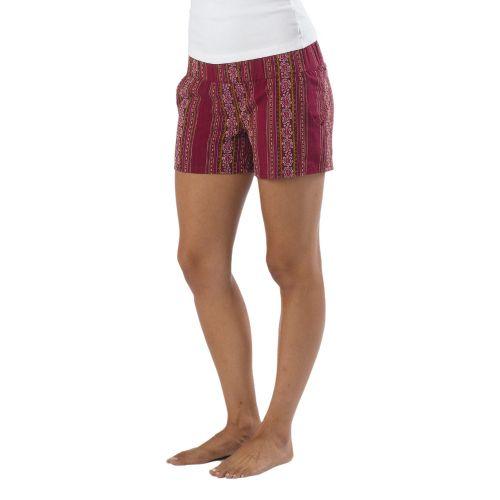 Womens Prana Reba Unlined Shorts - Boysenberry M