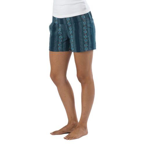 Womens Prana Reba Unlined Shorts - Ink Blue M