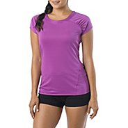Womens Prana Cheri Short Sleeve Technical Tops
