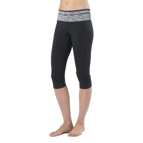 Womens Prana Alyson Knicker Capri Pants - Black L