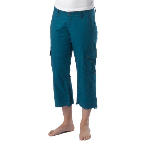 Womens Prana Kelly Capri Pants - Ink Blue 4