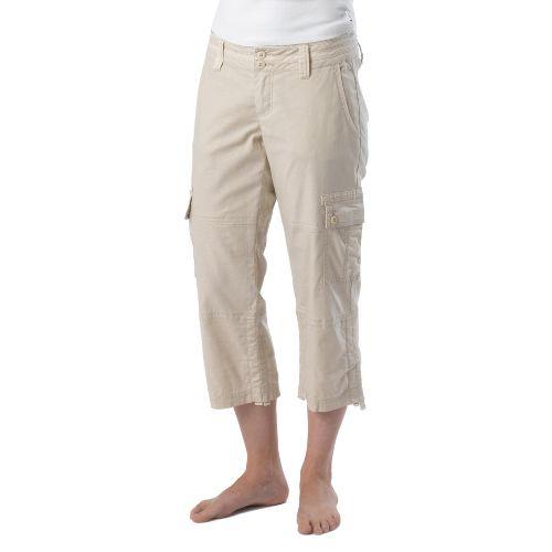 Womens Prana Kelly Capri Pants - Stone 4