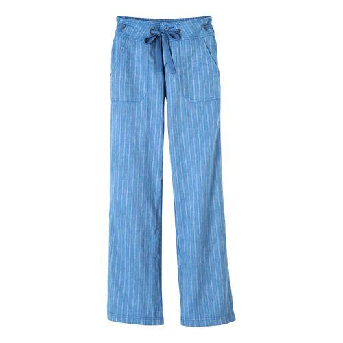 Womens Prana Steph Pants - Vintage Cobalt 2