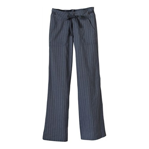 Womens Prana Steph Full Length Pants - Blue Ridge 10