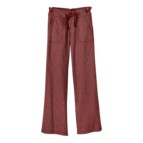Womens Prana Steph Full Length Pants - Tomato 2