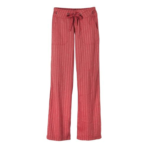 Womens Prana Steph Pants - Sunwashed Red 12