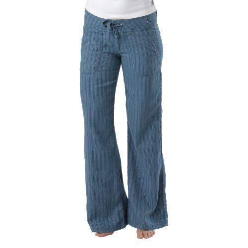 Womens Prana Steph Full Length Pants - Blue Ash 4
