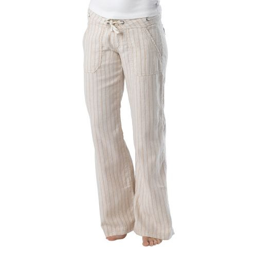 Womens Prana Steph Full Length Pants - Stone 8