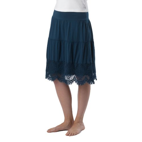 Womens Prana Jenni Fitness Skirts - Ink Blue M